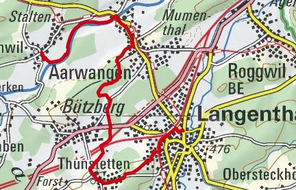 10.02.2018 Nachmittag Bannwil-Langenthal