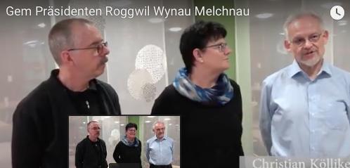 Interview's mit den Gemeinde-Präsidentin/en Roggwil Wynau Melchnau